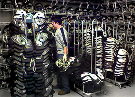 sanitizing sports equipment for teams