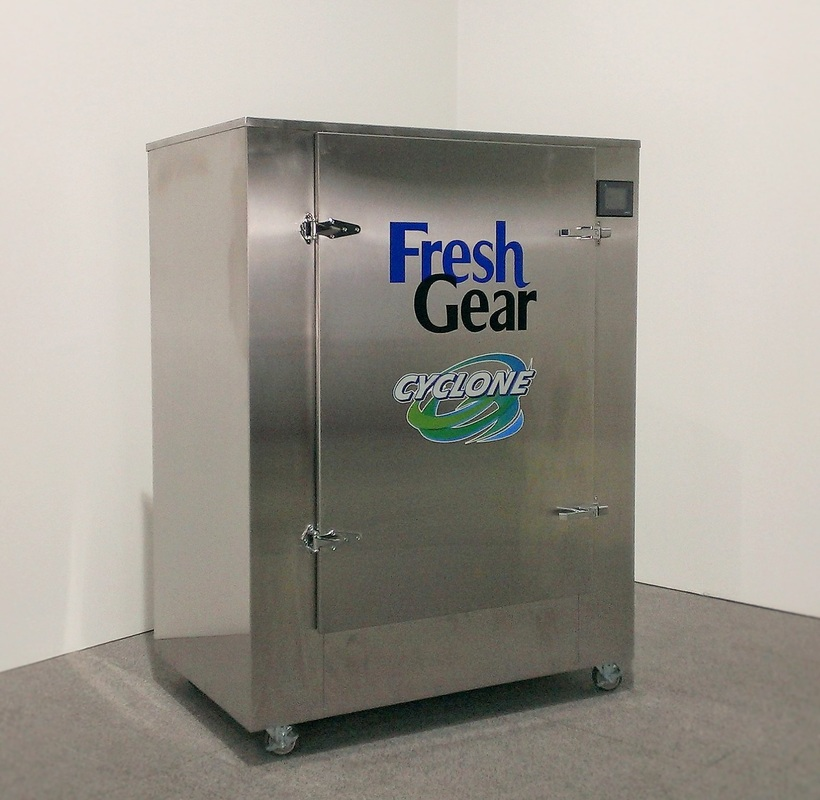 fresh gear cyclone sanitizing machine